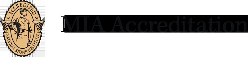 Accredited Natural Stone Institute   MIA accreditation